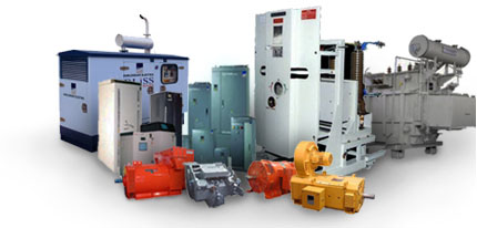 Manufacturer of Industrial Machinery, Power Generators and control
